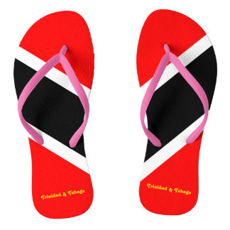 Trinidad and Tobago Flip Flops