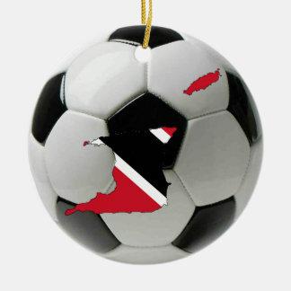 Trinidad and Tobago football soccer ornament