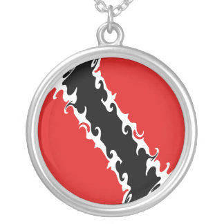 Trinidad and Tobago Gnarly Flag Pendants