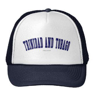 Trinidad and Tobago Trucker Hats