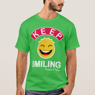 Trinidad and Tobago Keep Smiling Smiley T-Shirt