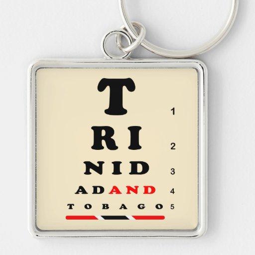 Trinidad and Tobago Key Chain