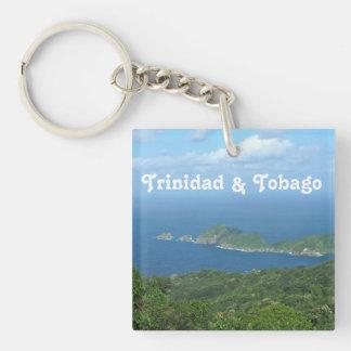 Trinidad and Tobago Acrylic Key Chain