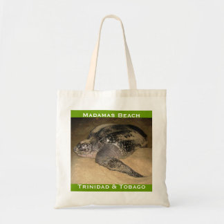 Trinidad and Tobago Leather-Back Turtle Budget Tote Bag