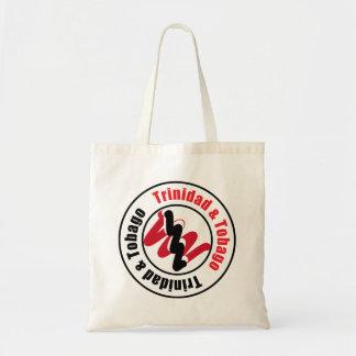 Trinidad and Tobago Logo Design Budget Tote Bag