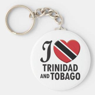Trinidad and Tobago Love Key Chains