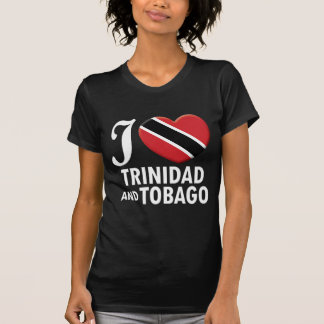 Trinidad and Tobago Love W T-Shirt