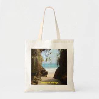 Trinidad and Tobago Madamas Beach Budget Tote Bag