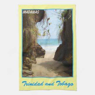 Trinidad and Tobago Madamas Beach Kitchen Towel