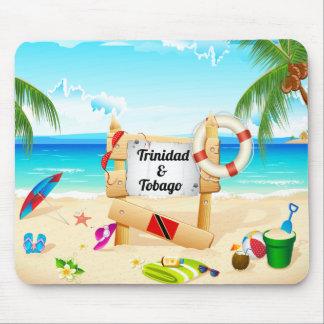 Trinidad and Tobago Maracas Beach Mouse Pad