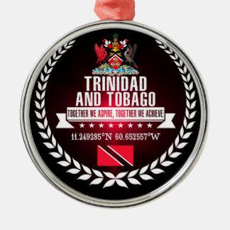 Trinidad and Tobago Metal Ornament