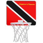 Trinidad and Tobago Mini Basketball Hoop