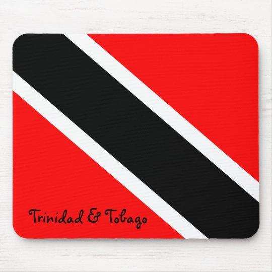 Trinidad and Tobago National Flag Mouse Pad