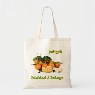 Trinidad and Tobago Puttygal Fruits Budget Tote Bag