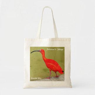 Trinidad and Tobago Red Scarlet Ibis Budget Tote Bag