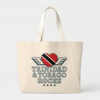 Trinidad and Tobago Rocks v2 Canvas Bag