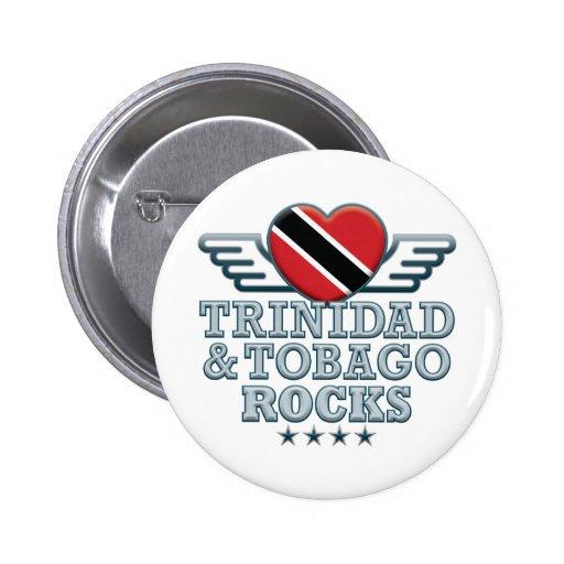 Trinidad and Tobago Rocks v2 Pin