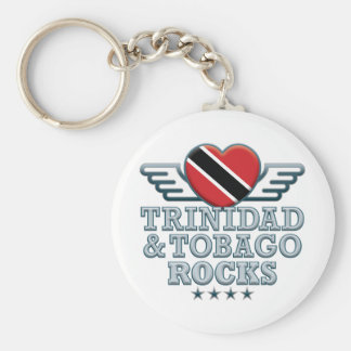 Trinidad and Tobago Rocks v2 Keychain