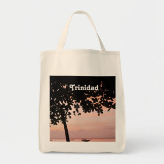 Trinidad and Tobago Sunset Canvas Bags