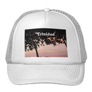Trinidad and Tobago Sunset Mesh Hat