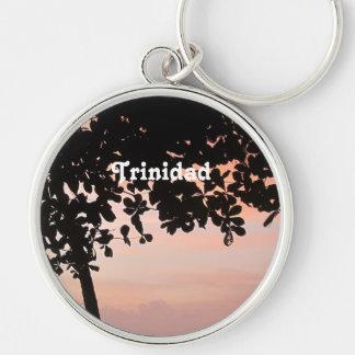 Trinidad and Tobago Sunset Keychain