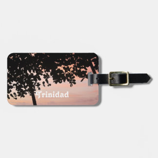 Trinidad and Tobago Sunset Bag Tag