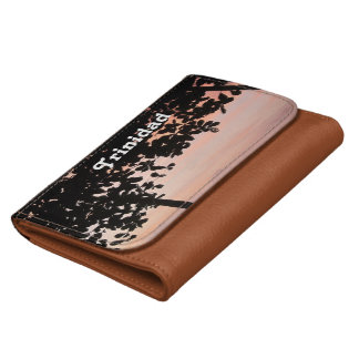 Trinidad and Tobago Sunset Wallet For Women