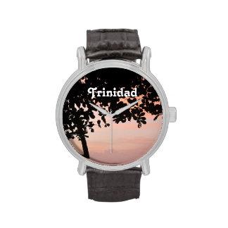Trinidad and Tobago Sunset Wristwatch