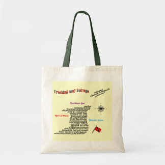 Trinidad and Tobago Towns And Villages Budget Tote Bag