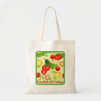 Trinidad and Tobago Vegetables Budget Tote Bag