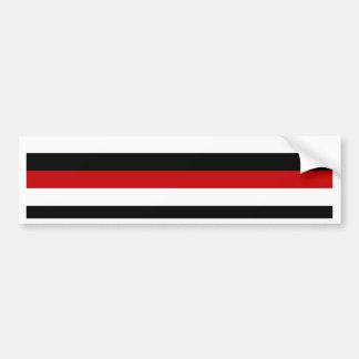 Trinidad and Tobago Yemen flag stripes Bumper Sticker