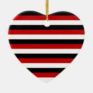 Trinidad and Tobago Yemen flag stripes Ceramic Ornament