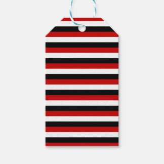 Trinidad and Tobago Yemen flag stripes Gift Tags