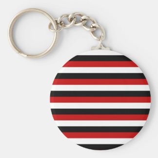 Trinidad and Tobago Yemen flag stripes Keychain