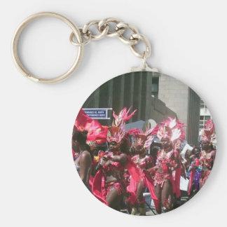 Trinidad Carnival 2006 Basic Round Button Keychain