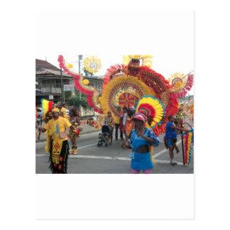Trinidad Carnival Postcard