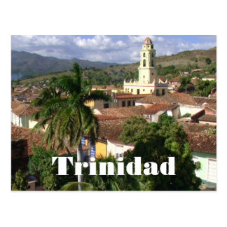 Trinidad, Church of Saint Francis, UNESCO Postcard