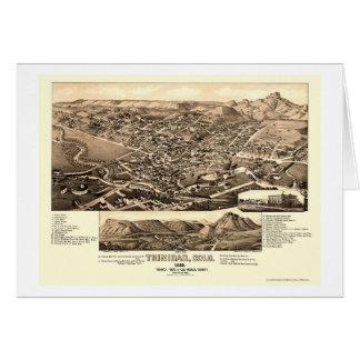 Trinidad, CO Panoramic Map - 1882 Card