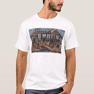 Trinidad, Colorado - Large Letter Scenes T-Shirt