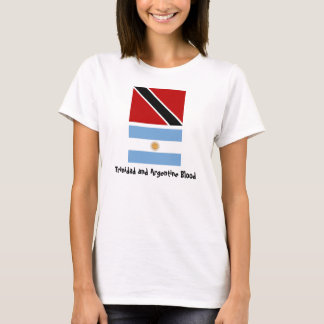 Trinidad_flag, Argentina_flag, Trinidad and Arg... T-Shirt