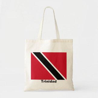Trinidad flag tote bags