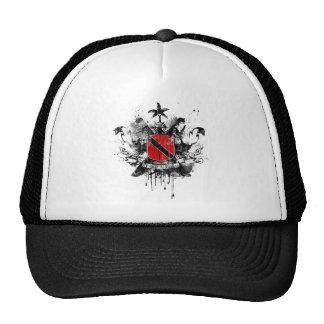 Trinidad Heraldry Grunge Trucker Hat