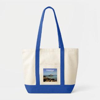 Trinidad Pier Canvas Bags
