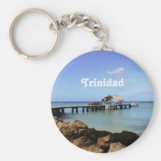 Trinidad Pier Keychain