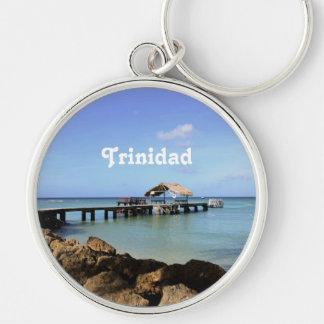 Trinidad Pier Key Chain