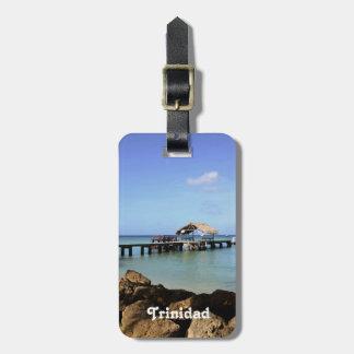 Trinidad Pier Travel Bag Tag