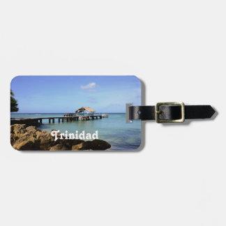 Trinidad Pier Luggage Tag