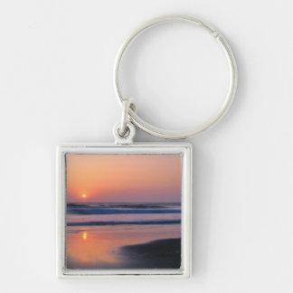 Trinidad State Beach, California. USA. Sea 2 Silver-Colored Square Keychain