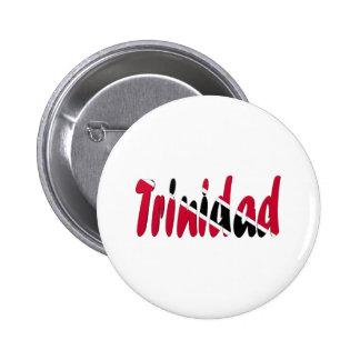 Trinidad & Tobago 2 Inch Round Button
