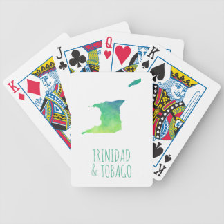 Trinidad & Tobago Bicycle Playing Cards